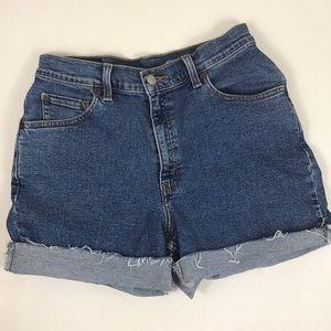 Levi's Vintage Cutoff Distressed Shorts